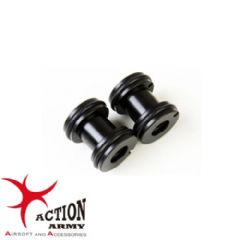 Action Army Barrel Spacers for Well MB01 & Maruzen Type 96 Airsoft Rifles